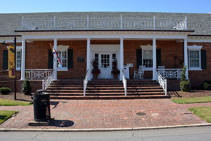 Exterior of the Chowan Arts Council, Edenton, NC